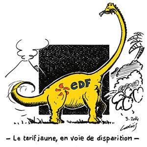 Le tarif jaune en voie de disparition